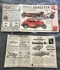 Vintage AMT Model Car Decal Customizing 3 In 1 Kit Instruction Manuel
