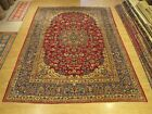 10 x 14 Hand Knotted Fine Quality Antique 1930s Persian Rug _ Soft Wool