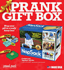 Prank Pack Nap Sack 11.25 x 9 x 3.25 - Gag Item Gift Box Only New Free Shipping