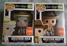 Funko Pop! Animation Western Rick and Morty 2018 Summer Convention Exclusive New