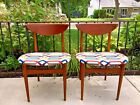 Mid-Century Modern Walnut Chairs by Lane Furniture:  Set of 2