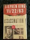 11 22 63 by Stephen King Signed Limited Edition MINT CONDITION SHRINK WRAPPED