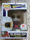 Funko POP! Movies THE INVISIBLE MAN #608 Universal Monsters Walgreens Exclusive