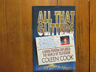 COLEEN COOK Signed BookALL THAT GLITTERS 1st Edition 1992 Hardback