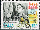 Italy Art Famous Vittorio de Sica Movie Bicycle Thieves stamp 1948