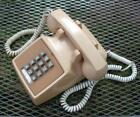 Vintage BELL SYSTEM Western Electric Push Button Desktop Beige Telephone 2500