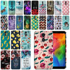 For LG Q7 Q7+ Q7 Alpha Q610 55 Design HARD Protector Back Case Phone Cover