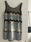 River Island Sequined Dreas NWT size 8uk