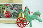 1995 Hallmark Fireman Turn of the Century Parade Ornament 1st in Series Toy Bell