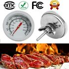 Edelstahl BBQ Bratenthermometer Ofenthermometer Gril-Thermometer 50°C-500°C