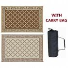 RV Outdoor Mat Rug Awning Floor Outside Reversible Patio Camper Camping Garden
