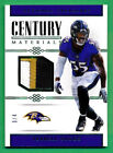 2017 National Treasures #20 TERRELL SUGGS PATCH Ravens *RARE 3 4 - X818