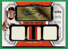 2012 Topps Museum Collection BUSTER POSEY AUTOGRAPH PATCH Giants 19 25