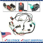 CDI WIRE HARNESS STATOR ASSEMBLY WIRING KIT FOR 50CC 125CC ATV ELECTRIC QUAD USA