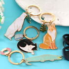 Fashion Girls Animal Alloy Metal Key Fob Gift Car Key Chain Women Key Ring