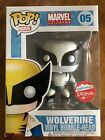 Funko Pop! Wolverine Black and White X Men Fugitive Toys Exclusive W Protector