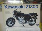 ENTEX 1/8 Scale Motorcycle Model Kit Kawasaki Z1300 # 9192