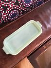 Vintage Anchor Hocking Fire King Jadite Butter Dish Bottom Only