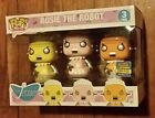 FUNKO POP THE JETSONS ROSIE THE ROBOT 3 PACK 2017 SUMMER CONVENTION EXCLUSIVE