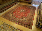 9.8 x 13.4 Hand Knotted Handmade Antique 1940s Persian Oriental Rug _Soft Wool