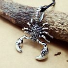 Fashion Personality Stainless Steel King Scorpion pendants necklacee DZ120
