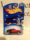 Hot Wheels Bugatti Veyron Black Red MOC 2003 First Edition 18 42 Collector 30
