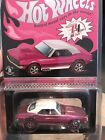 Hot Wheels RLC RedLine Club 67 CAMARO Pink Party Car Convention Nationals HTF