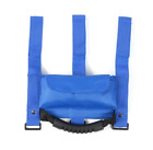 Blue Roll Bar Grab Handle with Sunglasses Holder for Jeep Wrangler CJ TJ JK JL