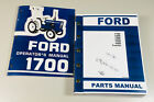 FORD 1700 TRACTOR OPERATORS MANUAL PARTS ASSEMBLY CATALOG SET