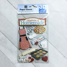 Baking Stickers Scrapbook Embellishments 3D Paper House Baker Chef Cooking