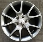 17 DODGE DART FACTORY OEM HYPER SILVER ALLOY WHEEL RIM 17x7 1 2 2013 2016