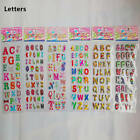 2018 Hot Letters Alphabet Cartoon Scrapbooking Stickers Kids Birthday Gift 6PC