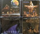 Obliveon- From This Day Forward, Nemesis, Cybervoid, Carnivore Mothermouth (4 CD