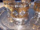 (4) Vintage Culver Old Fashioned On The Rocks Glasses