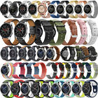 18 20 22mm Quick Release Leather Watch Band Wrist Strap For Fossil Smart Watch