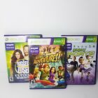 Xbox 360 Kinect Lot of 3 Games SPORTS ADVENTURES Biggest Loser