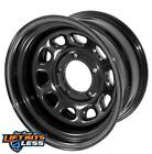 Rugged Ridge 1550001 Black Steel Wheel for 84 06 Cherokee XJ Comanche TJ YJ LJ
