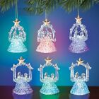 18Ct LED Color Changing Nativity Christmas Ornaments Great Gifts or Party Favors