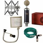 Blue Baby Bottle SL Microphone Bundle with the Pop and Quad Premium XLR Cable