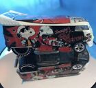Hotwheels VW DRAG BUS Snoopy Versus The Red Baron Custom BusReal Riders Tires