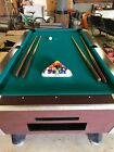 Great American 7 Eagle Coin Op Billiards Pool Table in Very Good Condition