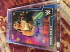 Ronda Rousey Autograph 2018 WWE Womens Division Blue Parallel Rookie Card 20 25