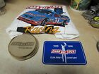 CHANNEL LOCK PLIERS TOOLS RACING SHIRT FIRST CENTURY STICKER N COASTER SET