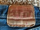 Vintage 1967 Levis 501 Red Line Selvedge Single Stitch Button Fly