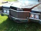 1969 Cadillac Brougham  1969 for $2100 dollars