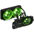 ID COOLING 240 Integrated AIO Water Cooler For GTX1080 1070 VGA CardNvidia