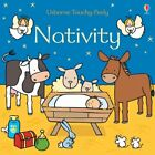 NATIVITY USBORNE TOUCHY FEELY BOOKS By Fiona Watt Excellent Condition