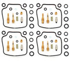 Set of 4 Deluxe Carburetor Rebuild Kits - Honda CB650SC - Nighthawk 1983-1985