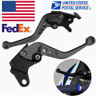 US 2× Motorcycle Clutch Brake Lever Universal For Yamaha Kawasaki Suzuki BMW