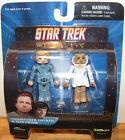 Star Trek Series 5 Set of Mini Mates DECKER and ILEA PROBE ~ Art Asylum